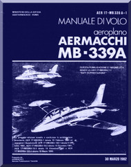 Aermacchi MB-339 A Aircraft Flight Manual - 1982