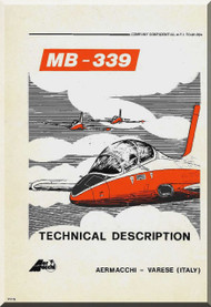 Aermacchi MB-339 Aircraft Technical Manual - 1981