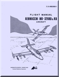 Aermacchi M- 326 KD KB Aircraft Flight  Manual, ( English Language )