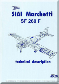 SIAI Marchetti SF-260 F Aircraft Technical Manual - 1992