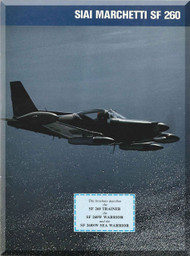 SIAI Marchetti SF-260 ircraft Technical Brochure Manual,
