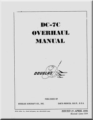 Douglas DC-7 Aircraft Overhaul  Manual