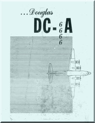 Douglas DC-6  Aircraft  Study Guide   Manual  ,  1947