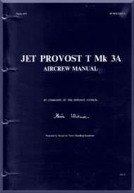Percival Jet Provost T  Mk.3A  Aircraft  Aircrew  Manual -