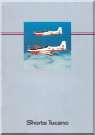 Short Tucano Aircraft  Technical Brochure Manual