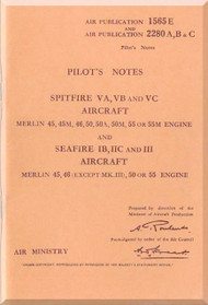 Spitfire Aircraft Manuals