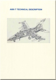 Aeritalia Aermacchi Embrair Aircraft  AMX T Technical Description   Manual
