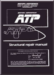 BAe ATP Aircraft Structural Repair Manual