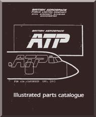 BAE ATP Aircraft Illustrated Parts Catalog  Manual