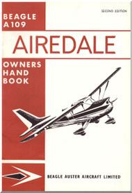 Beagle A.109 Airedale Aircraft  Owners Handbook   Manual