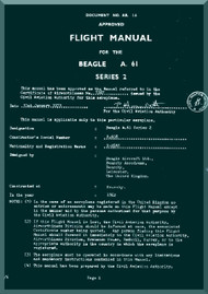 Beagle A.61 Aircraft Flight Manual