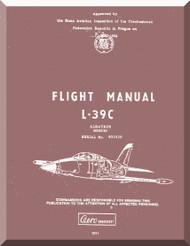 Aero Vodochoy L-39 C Albatross Aircraft Flight  Manual