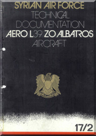 Aero Vodochoy L-39 ZA Albatross Aircraft Technical Manual,  Ejection Seat