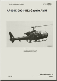 Westland Gazelle ASH Mk1 Helicopter Basic Maintenance AP101C-0901-1B2