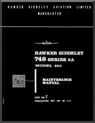 Avro Andover / BAe / Hawker Siddeley 748   Aircraft  Maintenance Manual