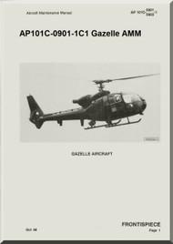 Westland Gazelle ASH Mk1 Helicopter Basic Maintenance AP101C-0901-1C1