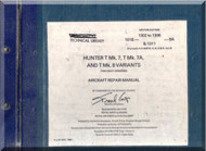 Hawker Hunter  T Mk.7  Aircraft Repair Manual