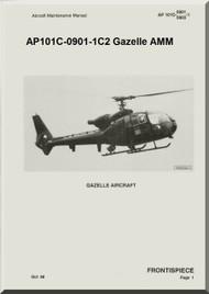 Westland Gazelle ASH Mk1 Helicopter Basic Maintenance AP101C-0901-1C2