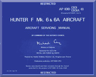 Hawker Hunter F Mk.6 Aircraft  Servicing Manual - AP 101B-1301-1B
