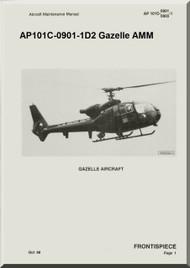 Westland Gazelle ASH Mk1 Helicopter Basic Maintenance AP101C-0901-1D2