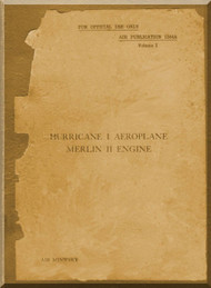 Hawker Hurricane I  Aircraft   Manual A.P. 1564A - 1939