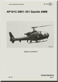 Westland Gazelle ASH Mk1 Helicopter Basic Maintenance AP101C-0901-1E1