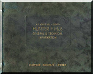 Hawker Hunter F Mk. 6 Aircraft  Technical Manual  A.P. 4347 F
