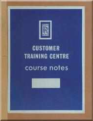 Rolls Royce Tyne Aircraft Engine Training Course  Manual