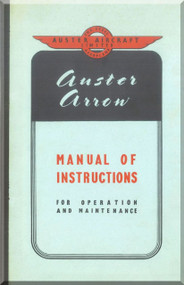 Auster Arrow  Aircraft Instruction  Manual