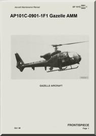 Westland Gazelle ASH Mk1 Helicopter Basic Maintenance AP101C-0901-1F1