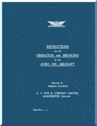 A. V. Roe Avro Anson  Aircraft  Operating and Service Manual