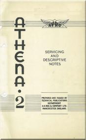 A. V. Roe Avro Athena Aircraft Service Descriptive Notes Manual