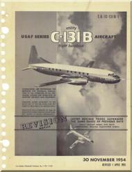 Convair C-131 B Aircraft Flight Manual 1C-131B-1 - 1954