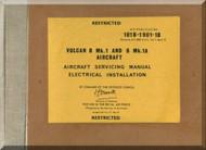 A. V. Roe Avro Vulcan  B Mk.1 & Mk.1A  Aircraft Service  Manual -- 101B-1901-1B , 1967