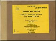 A. V. Roe Avro Vulcan  B Mk.2 Aircraft Service  Manual -  101B-1902-1C , Cover 2 , 1975