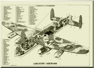 A. V. Roe Avro Lancaster Aircraft Service Handbook Manual -   A.P. 2052A Volume 1