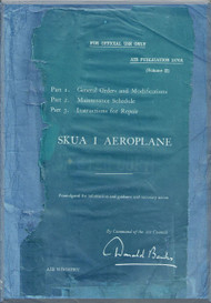 Blackburn Skua I Aircraft Technical Manual  -  ( English Language )  Air Publication 1570 A, 1938