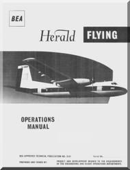 Handley Page Herald Aircraft  Operationa Manual - BEA