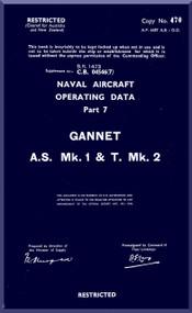 Fairey Gannet AS Mk.1 T Mk.2 Aircraft Operating Manual