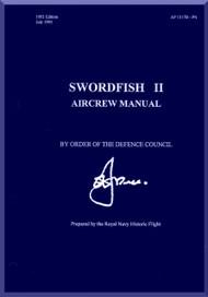 Fairey Swordfish II Aircraft Aircrew  Manual