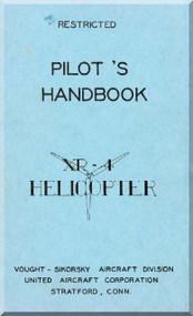 Sikorsky XR-4  Helicopter Pilot's Handbook Manual