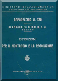 Fiat  / Aeronautica D'Italia  S.A.  A.120  Aircraft Maintenance Manual