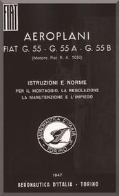 FIAT G.55  A B Aircraft Maintenance Manual