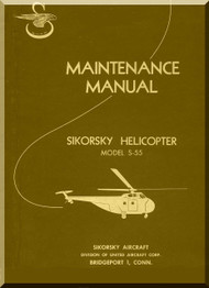 Sikorsky S-55 Helicopter  Maintenance Manual