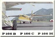 Piaggio P.166 B C M Aircraft Technical Brochure   Manual,  ( English Language )