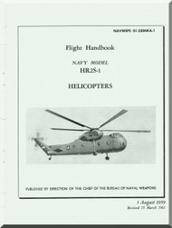 Sikorsky  HR2S-1 Helicopter Flight  Handbook AN 01-230HKA-1