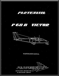 Partenavia  P68  B  Victor Aircraft Maintenance Manual  ( English Language )