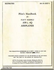 Glenn Martin AM-1, AM-1Q   Handbook  Manual   AN-01-35EF-1,  1949
