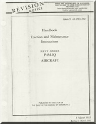 Glenn Martin P4M Mercator Handbook of Erection and Maintenance   A.N. 01-35EH-502  1956