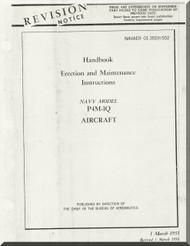 Glenn Martin P4M Mercator Handbook of Erection and Maintenance   A.N. 01-35EH-502  1956